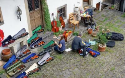 Rettung der Streichinstrumente